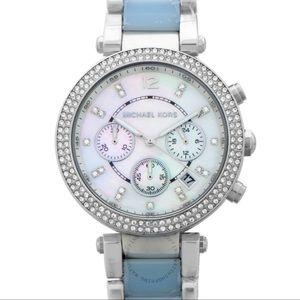 Michael Kors Quartz Mother Of Pearl Dial Watch